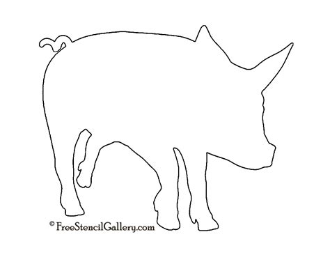 pig pumpkin template best photos of pig stencils printable free printable pig