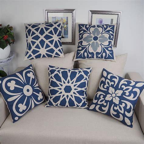 cuscini indiani floral geometric cushion cover indian pillows ethnic