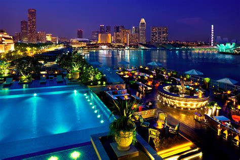 Roof Top Bars Singapore by 5 X De Beste Rooftop Bars In Singapore Inhetvliegtuig Nl