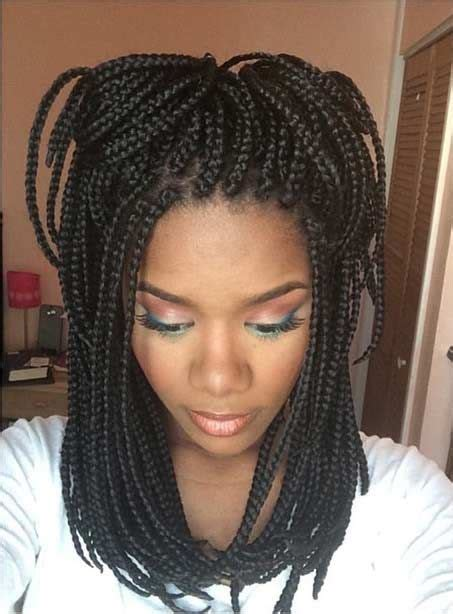 box braids lengths the 25 best medium box braids ideas on pinterest medium