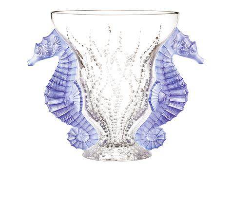 lalique vase vase lalique poseidon 10446200
