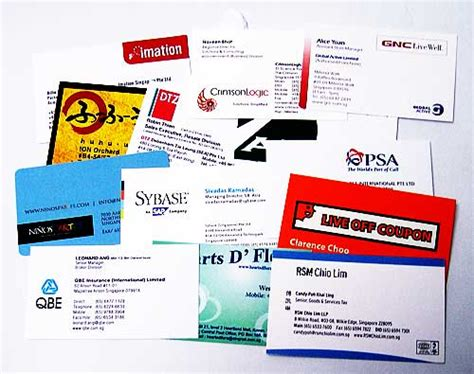 Name On Card Gift Card - creative business name card attracts valued clients print city singapore