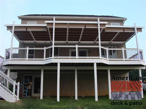 shade tree awnings shade tree awning traditional deck other by american deck and patio