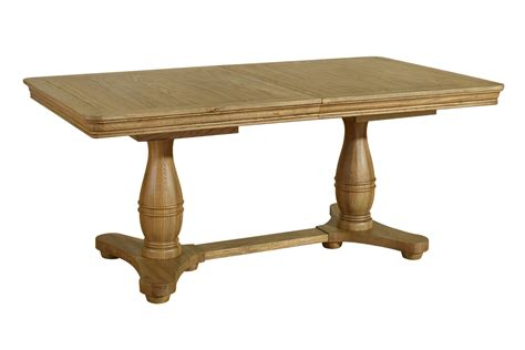 solid oak dining table linden solid oak dining room furniture large extending