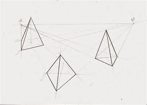 2 Drawings In 1 by Weekly Doodles And Tuts How To Draw A Pyramid In 1