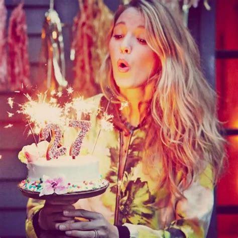 Celebrates 27th Birthday by Lively Celebrates 27th Birthday Hawtcelebs