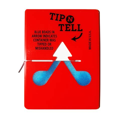 And Tell tip n tell labels tip n tell indicators in the uk