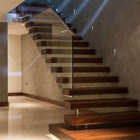 Wood Glass Stairs Design 10 Fascinating Wood Glass Staircase Designs For Home