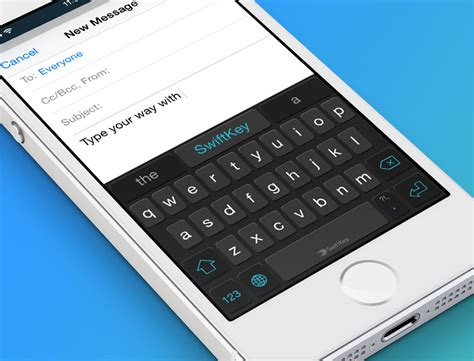 iphone keyboard for android swiftkey custom keyboard launching with ios 8 next week macstories