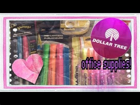 29 model dollar tree office organization yvotube com dollar tree school supplies haul youtube