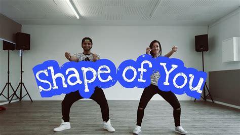 ed sheeran zumba shape of you by ed sheeran zumba choreo by flurim