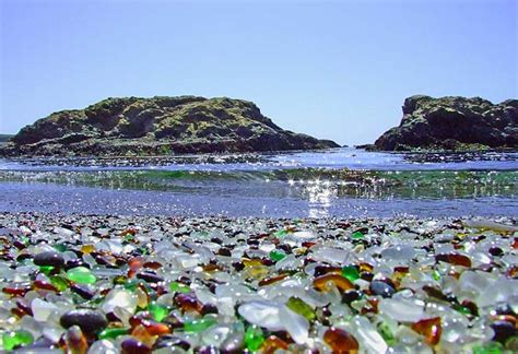 glass beach glass beach mermaid by hand