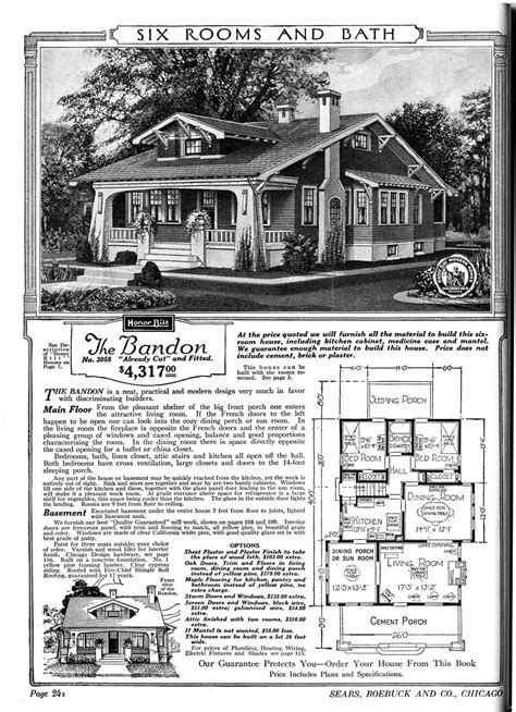 Ranch Home Floor Plan 1920 sears catalog homes sears houses 1920 craftsman home