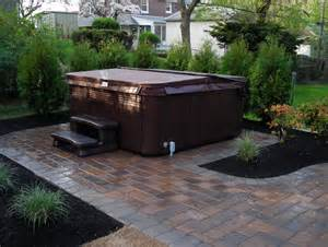 tub on patio free paver patio designs with tub don t forget to