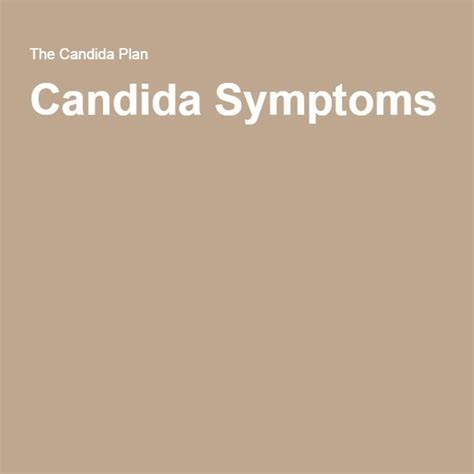 Ecology Detox Symptoms by The 25 Best Candida Symptoms Ideas On Yeast