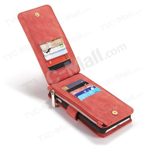 Caseme Iphone 7 Plus Wallet With 13 Slot Card Zipper caseme for iphone 7 plus 14 slots wallet 2 in 1 inner pc cover genuine split leather shell