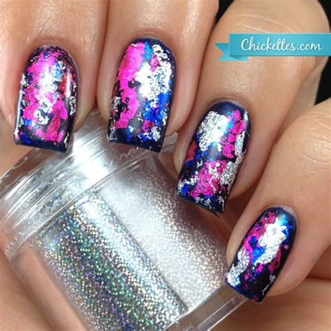 Nail Foil by Graffiti With Nail Transfer Foils Chickettes Soak