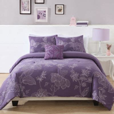 purple down comforter buy purple king comforter sets from bed bath beyond