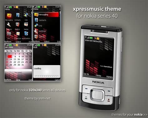 themes xpressmusic xpressmusic nokia theme by snm net on deviantart