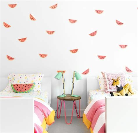 fun fruity watermelon themed room chango  kid
