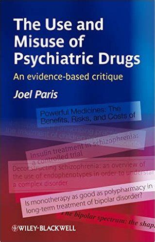 assessment and treatment second edition empirical and evidence based practices books the use and misuse of psychiatric drugs an evidence based