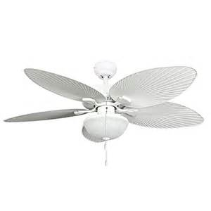 buy 52 inch wisteria outdoor white ceiling fan with light