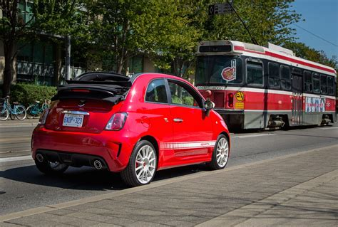 Fiat 500 Abarth Review by Drive 2015 Fiat 500 Abarth Cabrio Canadian Auto