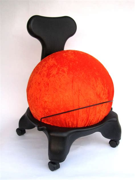 Fitball Chair by Gaiam Balance Chair Cover Fitball Chair By