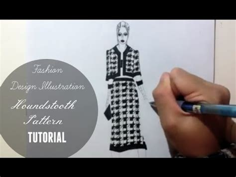 design pattern tutorial youtube houndstooth pattern tutorial and fashion design