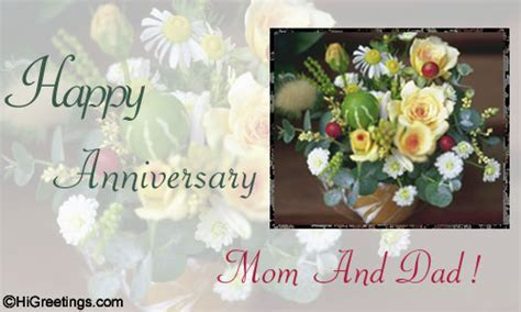 Send eCards: Family Wishes   Happy anniversary to you mom