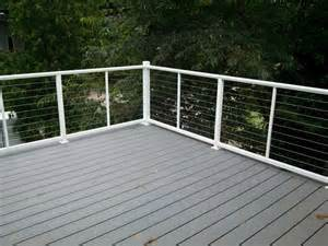 a quick guide to residential railing options straight