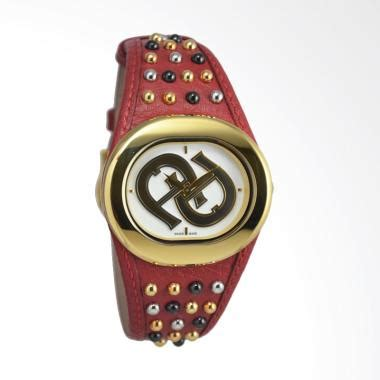 Promo Aigner A0173 Silver Gold Leather White jual jam tangan aigner terbaru harga promo original