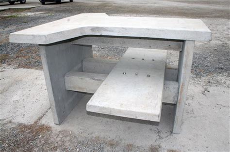 precast concrete benches shooting tables architectural photo gallery