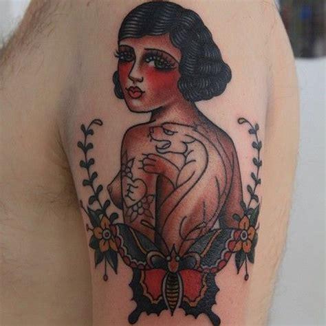old lady tattoo de 25 bedste id 233 er inden for p 229