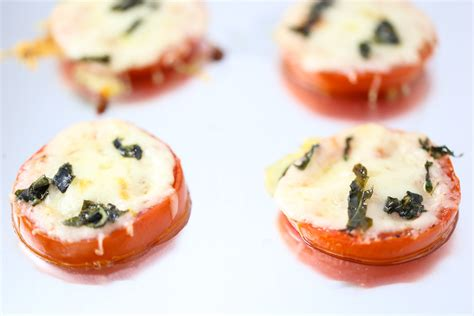 Sadly Tomatoes Are Not In Season Right Now by Cheesy Baked Tomatoes Tabs Tidbits