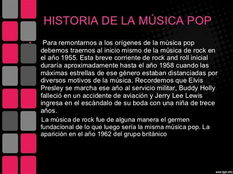 historia de la musica 8420663085 rock y pop