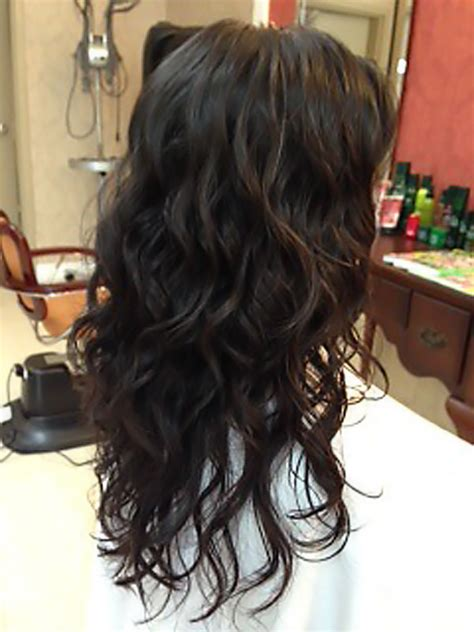 whats regular perm gallery big loose wave with regular perm