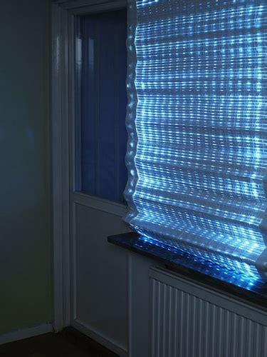 solar led curtain energy curtain providing shade and light envirogadget