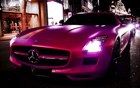 pink mercedes png pink sports car on