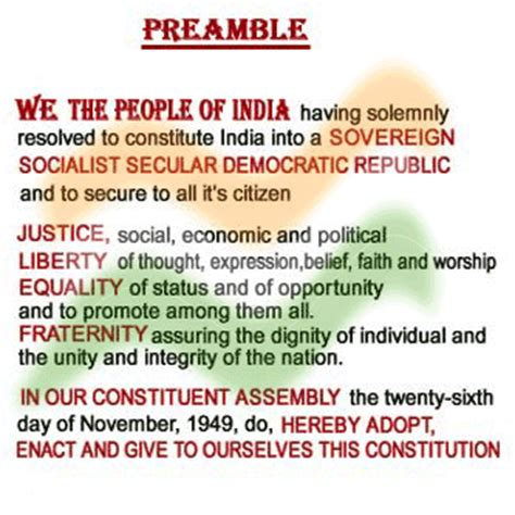how is the constitution of india organized what are the