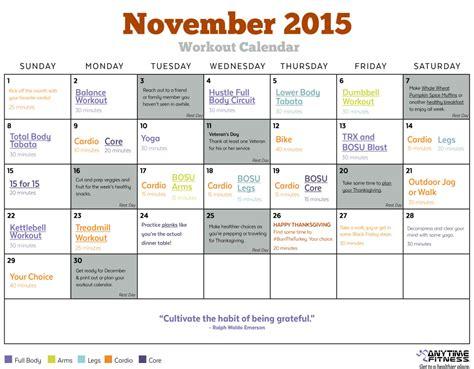 day planner november 2015 november 2015 workout calendar