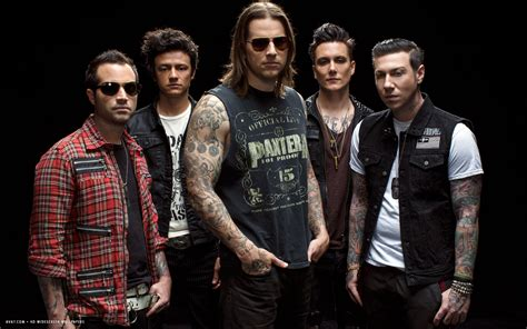 avenged sevenfold music band group hd widescreen wallpaper