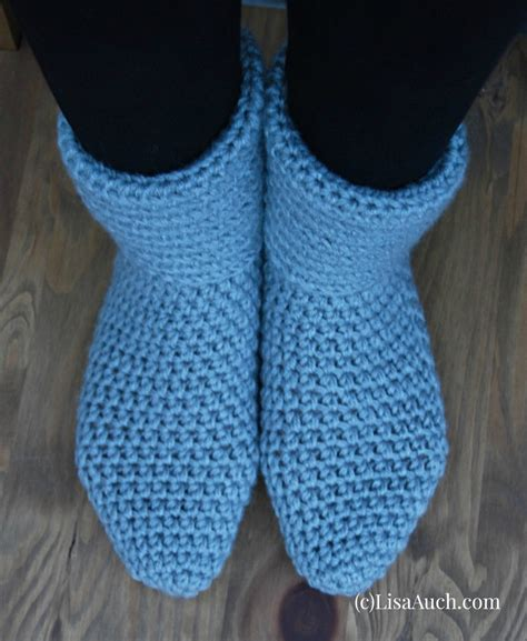 free pattern crochet slippers crochet slipper boots a free crochet pattern how to