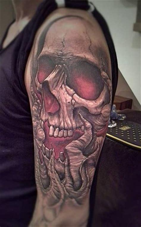shoulder jellyfish tattoo by kwadron tattoo gallery shoulder skull tattoo by kwadron tattoo gallery