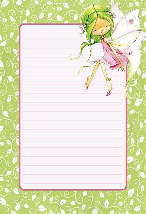 printable fairy stationary 17 best images about arts crafts paper stationery on