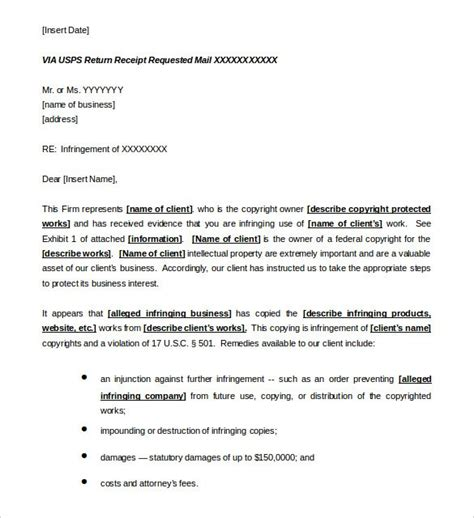 Cease And Desist Letter Template 16 Free Sle Exle Format Free Premium Templates Cease And Desist Template