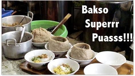 super puas makan bakso beranak kg  bakso rusuk joss
