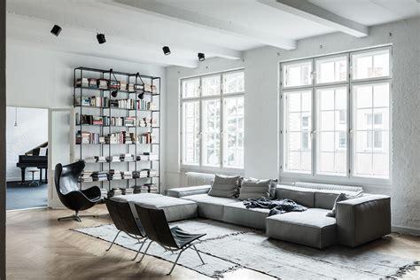 Minimal Minimal Basic Offwhite loft apartment studio berlin on behance