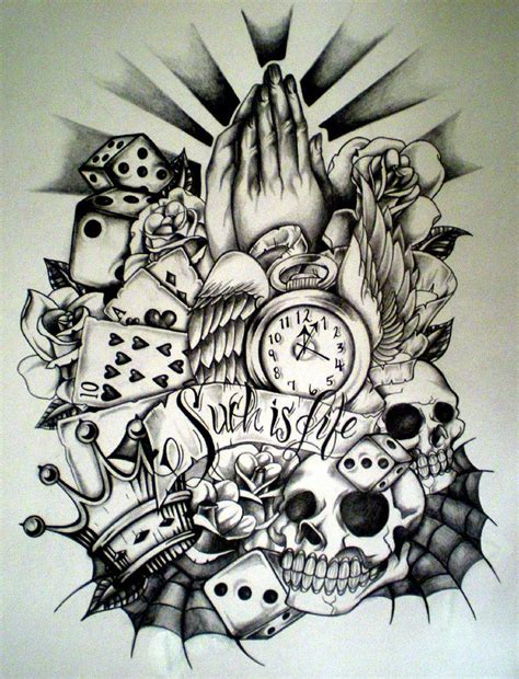 pencil drawings tattoo designs design drawing at getdrawings free for