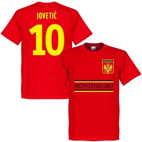 Tshirt Montenegro montenegro jovetic 10 team t shirt